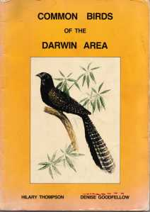 1988 local bird guide book Darwin and Palmerston NT